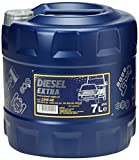 MANNOL Diesel Extra 10W-40 API CH-4/SL Motorenöl, 7 Liter