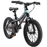 BIKESTAR Bicicleta Infantil Aluminio para niños y niñas a Partir de 4 años | Bici 16 Pulgadas con...