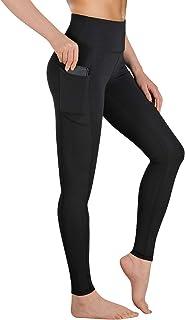 Gimdumasa Leggings de Sport Femmes Pantalon de Yoga Leggins avec Poches Yoga Fitness Gym Pilates Taille Haute Gaine GI188
