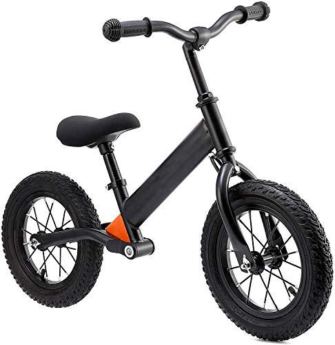 """City Bike for Kid Kids Balance Bike für 2-5-Jährige mit 12\""""Gummireifen, einfaches Step-Through-Frame-Bike für Jungen und Mädchen"""