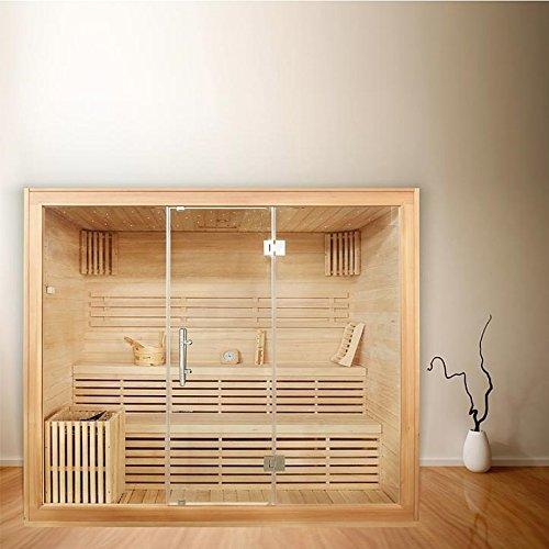 Sauna für 6 Personen, B 2,2m, mit Sternenhimmel
