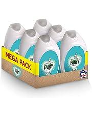 Fairy Non-Bio, Washing Liquid Laundry Detergent Gel, 150 Washes (6 x 925 ml)