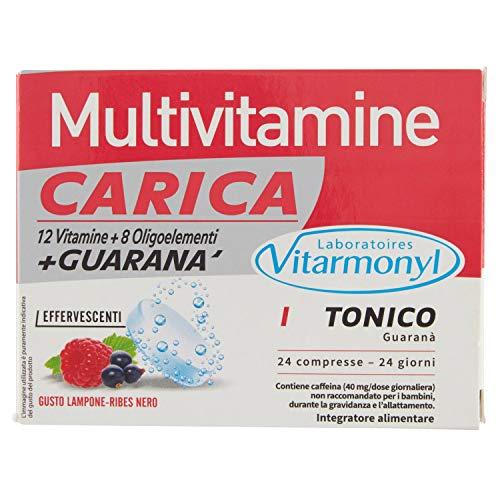 Vitarmonyl Multivitamine Carica - 3 Confezioni da 24 compresse effervescenti