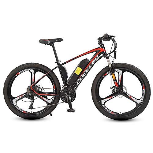 LCPP 26 '' Electric Mountain Bike Maschile Adulta 36V8AH Batteria al Litio / 250W Motore / 27 di velocità Integrato Wheel Rim
