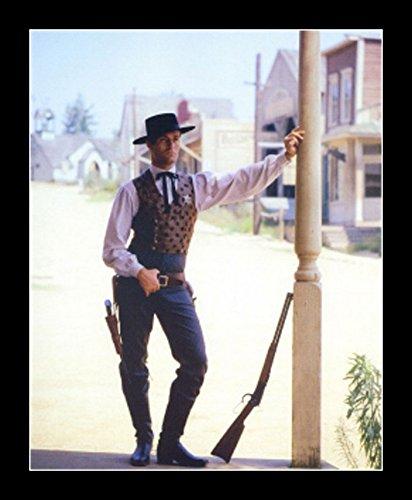 8 x 10 All Wood Framed Photo Hugh O'Brian Wyatt Earp Tombstone