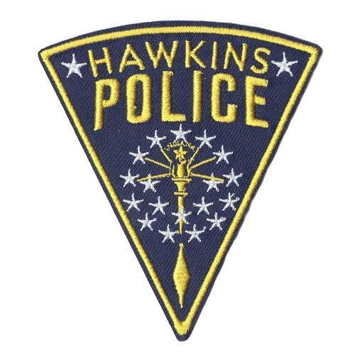 Parche bordado con logotipo de la policía de Hawkins de Str