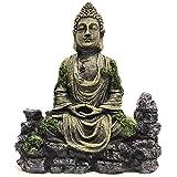 FEIGER Decoraciones de Estatua de Buda de Acuario SLOCME, decoración de Acuario, decoración de Estatua de Buda de pecera