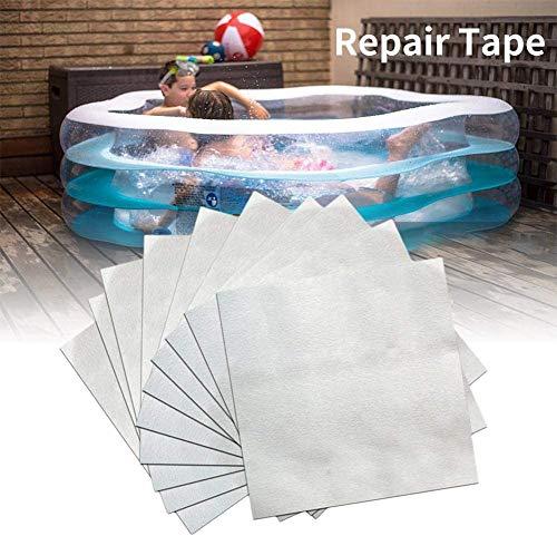 Vinyl Repair Patches Kit Aufblasbare Pool Reparatur Patch, für aufblasbare Schwimmbäder, Luftmatratzen, Matratzen, Bojen, Spielzeug (20)