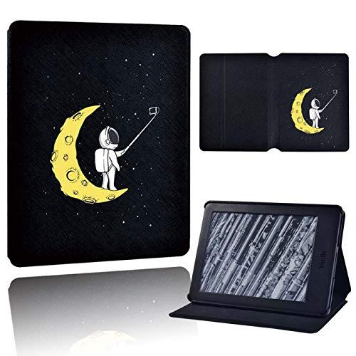 Kindle Cover,Gelber Mond Für Amazon Kindle (8/10. Gen)/Kindle Paperwhite 5/6/7/10...