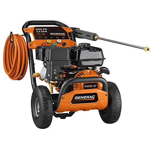 Generac 6924 3600 PSI 2.6 GPM 212cc Gas Powered Pressure Washer