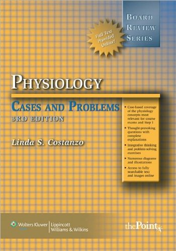 BRS Physiology Cases and Problems (text only) 3rd (Third) edition by L. S. Costanzo