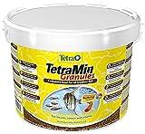 Tetra Poissons Eau Douce Tropicale Aliment Complet TetraMin Granules 10 L