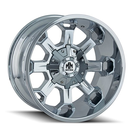 MAYHEM COMBAT CHROME Wheel (20 x 9. inches /5 x 150 mm, 0 mm Offset)