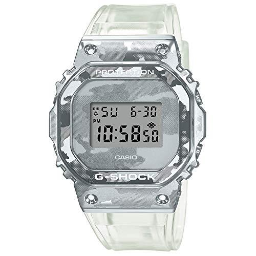 Casio G-Shock By Men's GM5600SCM-1 Digital Watch Camo Clear