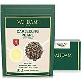 Darjeeling Pearl White Tea | Hojas sueltas de té blanco 100% puro sin mezclar | Tipo de t...