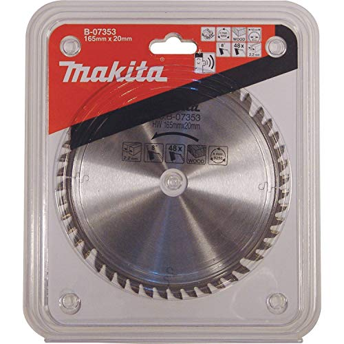 Makita B-07353 165mm X 20mm Carbide Tipped Blade