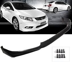 12 Honda Civic 4DR Sedan Modulo Style PU Front Body Bumper Lip Spoiler Kit