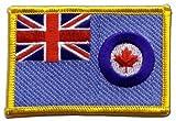 Flaggen Aufnäher Kanada Royal Airforce RCAF Fahne Patch +