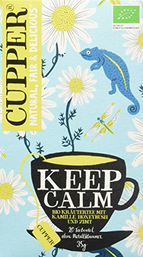 Cupper Tea Keep Calm, 4er Pack (4 x 35 g)