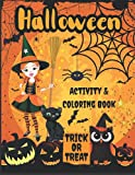 Halloween Activity & Coloring Book: for Kids Ages 6-8