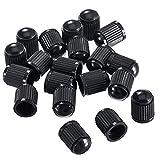 Ruiting - Tapones de plástico para válvulas de neumáticos, 50 unidades, para coches, motos, camiones, bicicletas