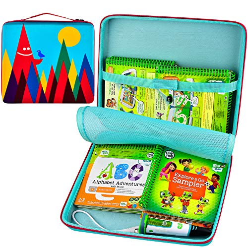 Carrying Case Compatible with Leapfrog LeapStart Go System and LeapStart Trolls Activity Book