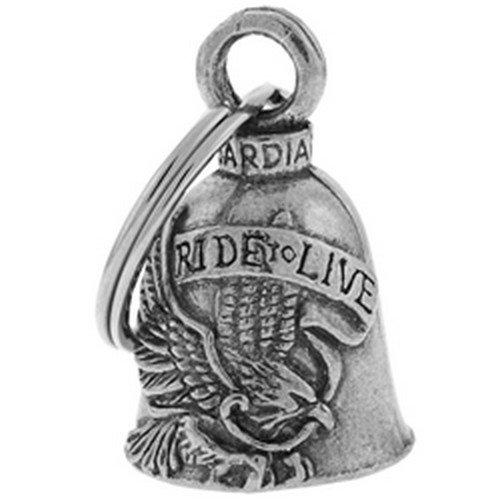 Guardian Bell - Llavero con amuleto de campana con diseño de águila
