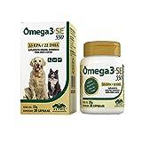Suplemento Mineral Vitamínico Vetnil Ômega 3 + Se 550 para Cães e Gatos - 30 Cápsulas
