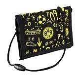 Borussia Dortmund Unisex Jugend BVB-Brustbeutel Tasche, schwarzgelb, one Size