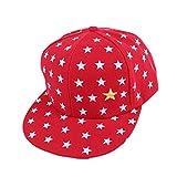 aiyvi 2-5 Jahre Baby Kinder Mtze Hip Hop Cap Baseballmtze Star Muster Atmungsaktive Hut, fr Junge Mdchen