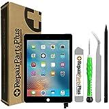 RepairPartsPlus for iPad Mini 4 Screen Replacement LCD Glass Digitizer (7.9', A1538 | A1550) + Sleep/Wake Sensor Premium Repair Kit - Black