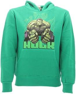 Hulk Marvel - Sudadera para niños de 5 a 6 años, Color Verde