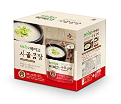 Great as-is or as a base for other creative soup or stew recipes. Pack these for nutritious meal in your next outdoor adventure - camping, picnic, hiking, rv'ing, etc. 17.7oz per pack; Feeds 1-2 persons. Product of CJ, No.1 Food Company in Korea. Bee...