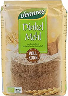 dennree Dinkel-Vollkornmehl 1 kg - Bio