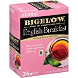 Bigelow English Breakfast Black Tea Keurig K-Cup Pods, Box of 24 Cups (Pack of 4) Caffeinated 96 K-Cup Pods Total