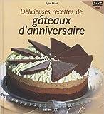 Délicieuses recettes de gâteaux d'anniversaire (1DVD) de Sylvie Aït-Ali ( 25 février 2010 ) - Editions ESI (25 février 2010) - 25/02/2010