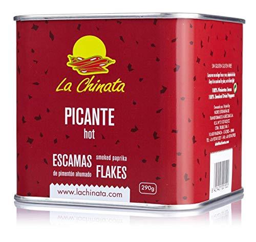 Escamas de Pimentón Ahumadon 'Picante' (Lata 290 g) - La Chinata
