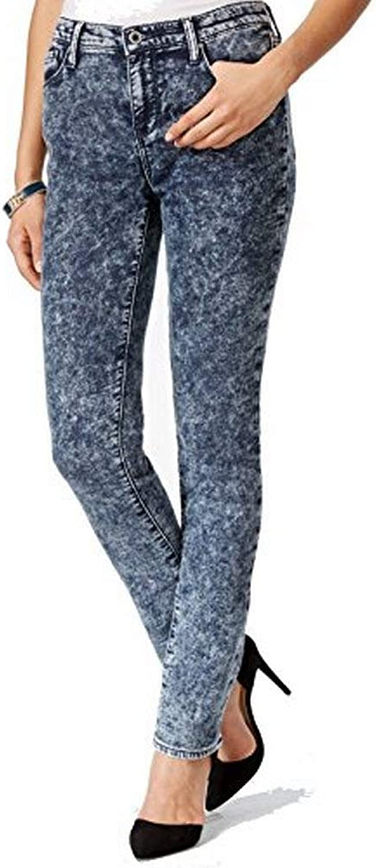 Dkny Jeans City Ultra Skinny Acid Wash Jeans (0)