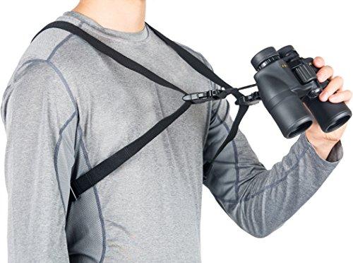 Think Ergo Binocular Harness Strap - Quick Release, Universal, One Size Fits All Bino Sling Strap