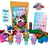 Wildflower Toys Fairy Doll Kit Light Skin for Ages 7+