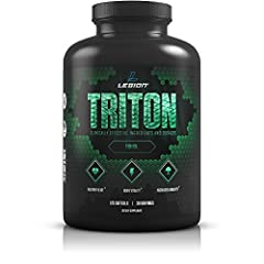 "HIGH-POTENCY BURPLESS FISH OIL PILLS. Triton provides 2,400 milligrams of highly bioavailable EPA DHA omega 3 fatty acids in every serving, as well as added vitamin E and lemon oil to prevent oxidation, rancidity, and ""fish oil burps."" OPTIMIZE YOUR ..."