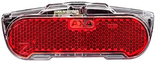 AXA Tr-Rücklicht Slim Steady LED Standlicht / 80mm Schwarz/Rot Fahrrad Lampe