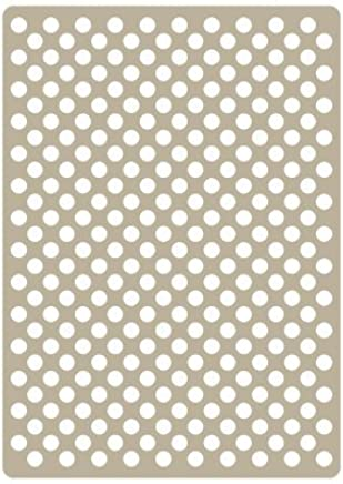 Renkalik renkalikste0003757/15/x 21/cm 064/Ingl/és Poes/ía Deco Embossing Stencil