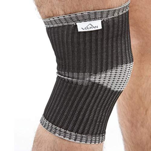 Vulkan Advanced Elastic Kniestütze, verschiedene Größen, dehnbarer Stoff Kniemanschette bietet Unterstützung und Komfort zu helfen, wieder von Gelenk- und Sehnenverletzungen, steigert die Durchblutung