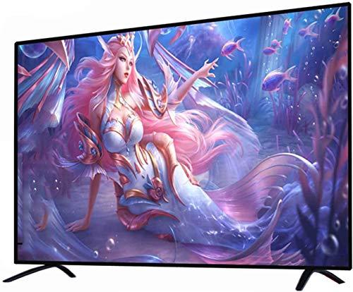 ZFFSC TV di qualità HD 4K Full HD Smart Android TV, Versione Network a Prova di Esplosione TV, 32 42 50 55   60 Pollici, WiFi Integrato, Intel Artificiale TV di qualità HD