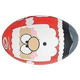 OPTIMUM Navidad Papá Noel Pelota de Rugby, Multicolor, Color Multicolor, tamaño Talla 4