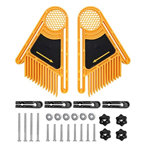 Roeam Featherboard Srews Kit, Double Feather Boards Feather Loc Board for Table Saw Band Saw Router Table Fence Miter Gauge Slot Woodworking -  ONH7490613923202FP