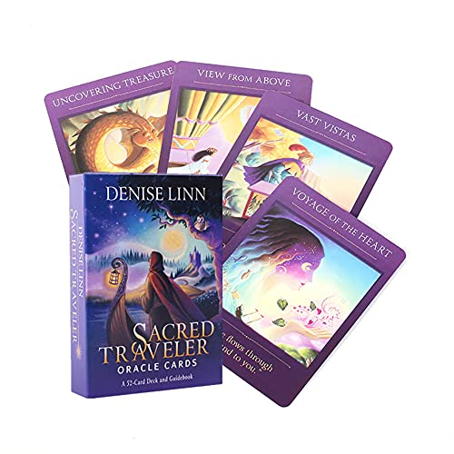Sacred Traveler Oracle Cards Table Board Deck Games Tarot Cards Playing Card Holiday Family Party Gift