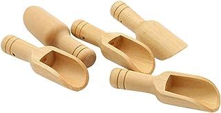 Healifty 20Pcs Mini Cuillères en Bois Petite Cuillère de Sels de Bain Accessoire de Sauna pour Les Saveurs Essentielles D'...