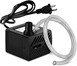 PULACO 50GPH 3W Mini Submersible Water Pump for Aquariums, Fish Tank,Wave Maker Pump,..